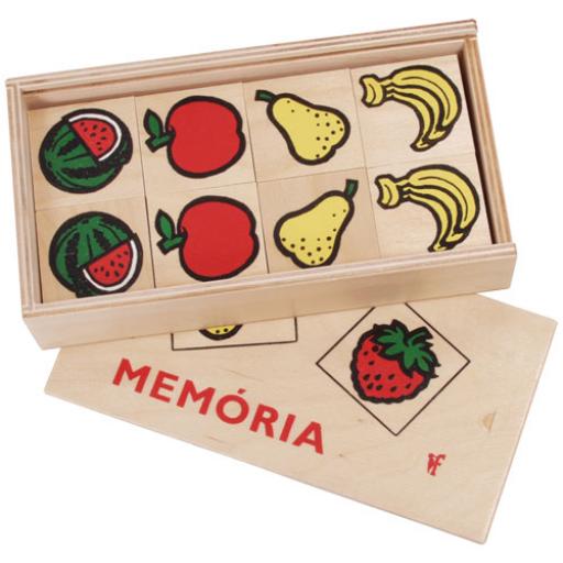 Fajáték - Memória - gyümölcsös