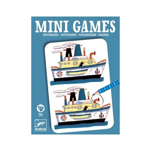 Djeco - Mini játékok - Eltérések