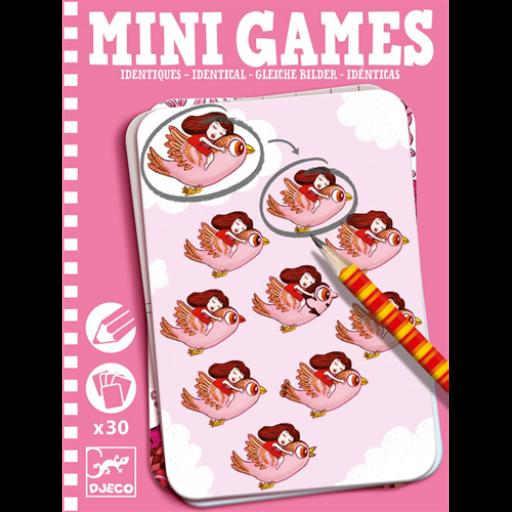 Djeco - Mini játékok - Megegyezőek