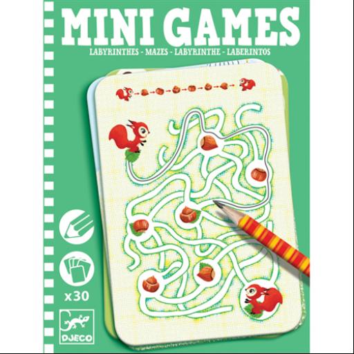 Djeco - Mini játékok - Labirintusok
