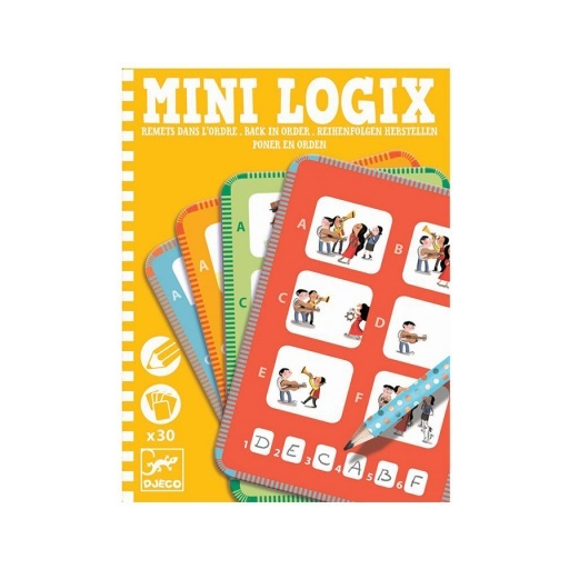 Djeco - Mini logikai - Tedd sorrendbe!