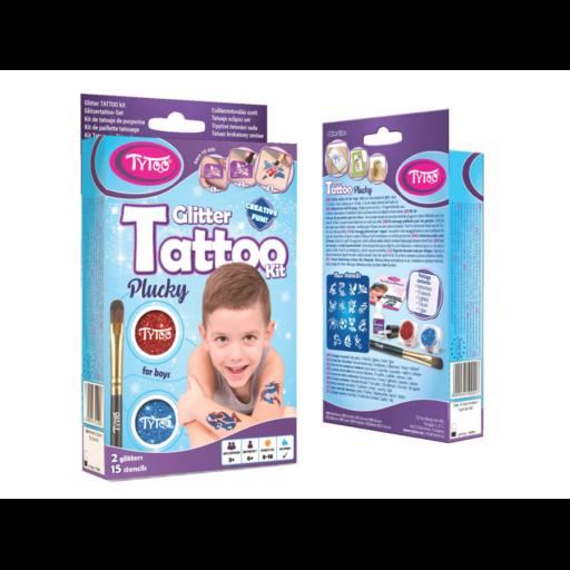 TyToo - Fiús mini csillámtetoválás szett