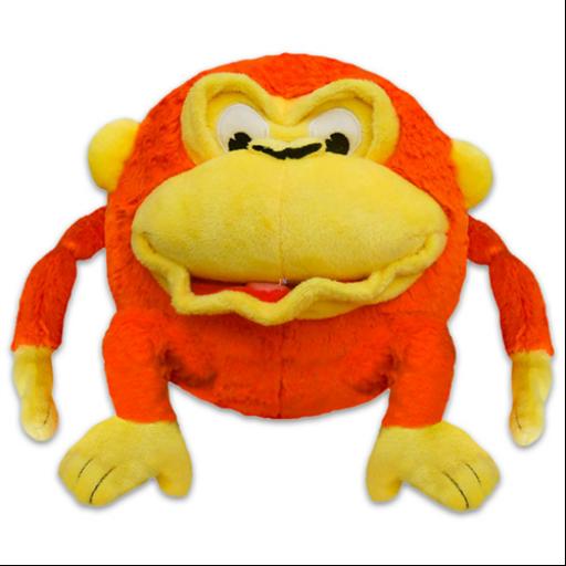 Grimasz Pajtik - Majom plüssfigura - 30 cm