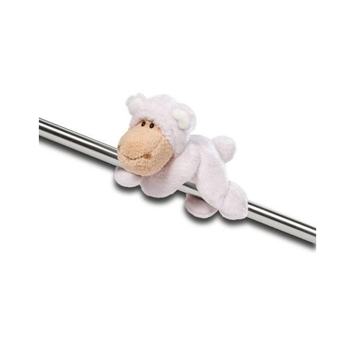 Nici - Plüss bárány, mágneses - Jolly Tessa - 12 cm