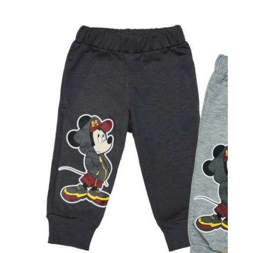 Disney Mickey baba/gyerek bolyhos szabadidőnadrág