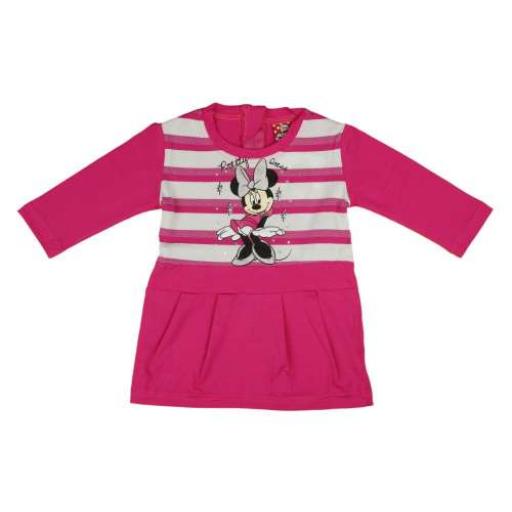 Disney Minnie baba/gyerek hosszú ujjú ruha