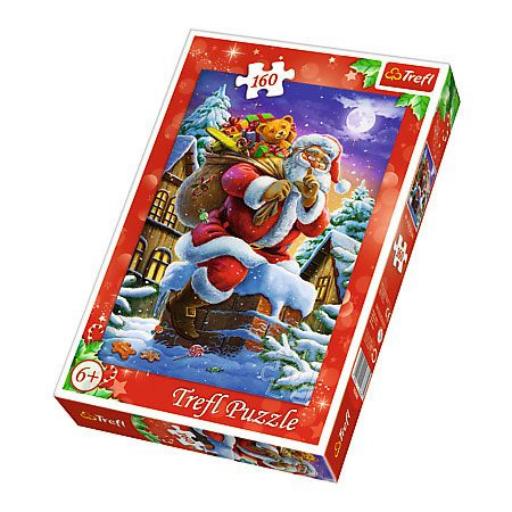 Trefl - Mikulás Puzzle - 160 db