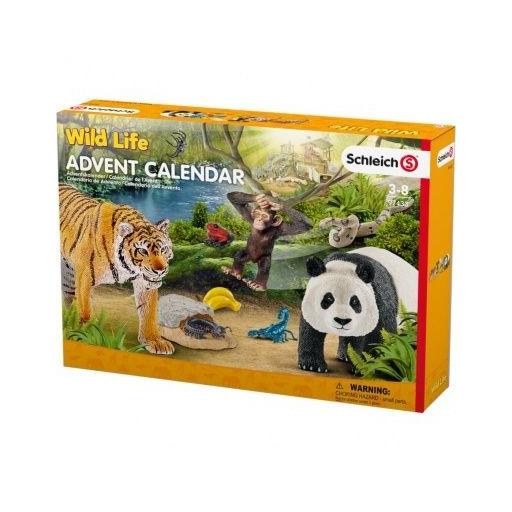 Schleich Adventi naptár - Wild Life