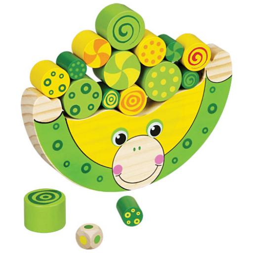 Fajáték - Egyensúlyozó játék - békás