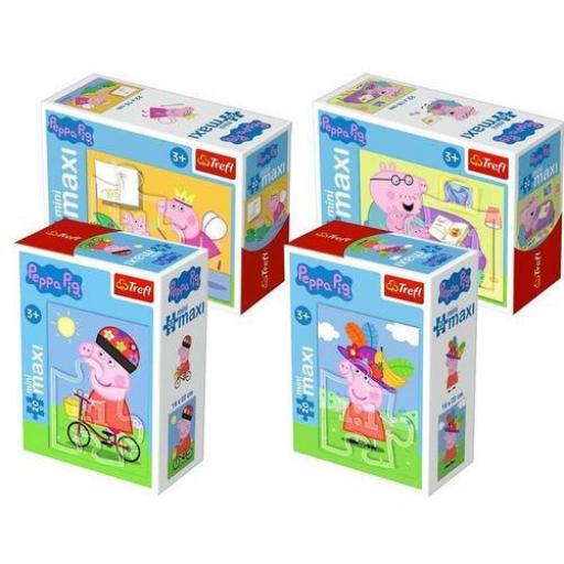 Trefl - Peppa malac - MiniMaxi puzzle - 20 db