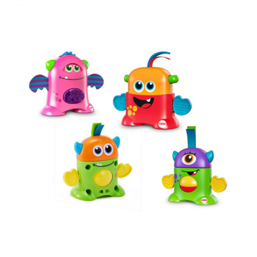 Fisher-Price - Mókás mini szörnyecskék