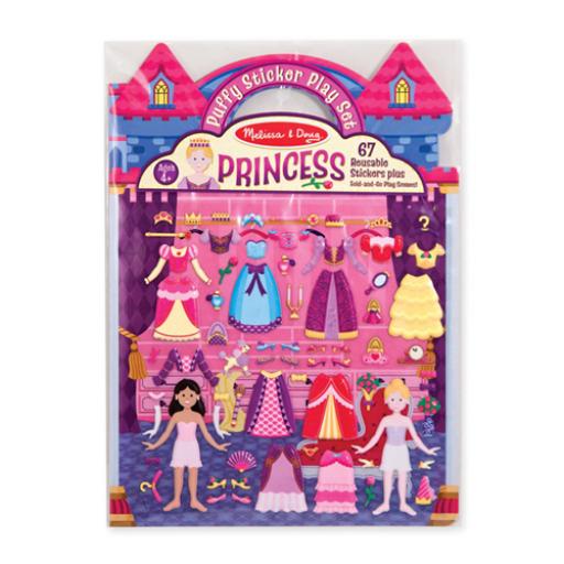 Melissa & Doug - Pufi matrica készlet, hercegnő
