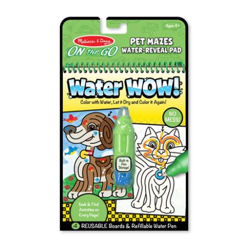 Melissa & Doug - Rajzolás vízzel, útvesztő