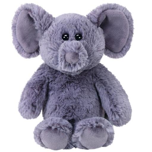Ella szürke elefánt plüss figura - 15 cm