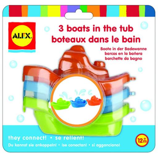Alex - Három kishajó fürdőjáték