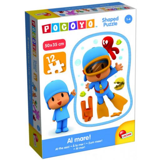 Pocoyo - 12 db-os  Formapuzzle - Pocoyo búvár
