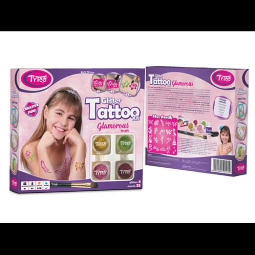 TyToo - Glamorous csillámtetoválás szett