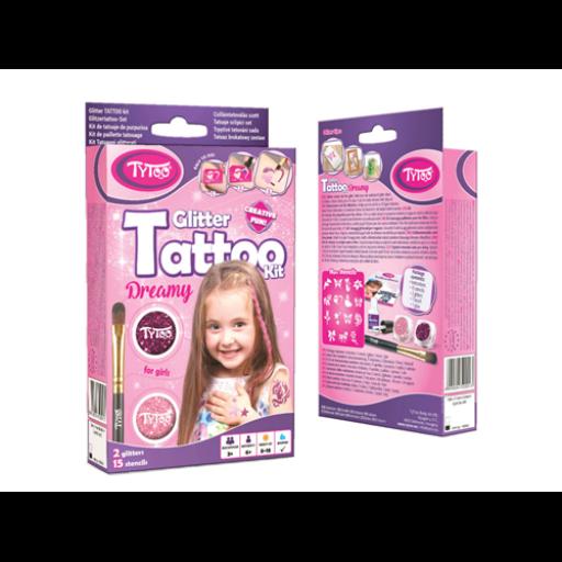 TyToo - Kislányos mini csillámtetoválás szett