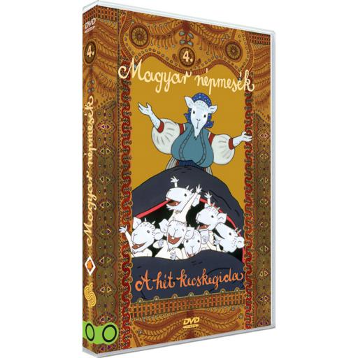 Magyar Népmesék 4. - A hét kecskegida DVD
