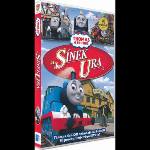 Thomas, a gőzmozdony - A sínek ura DVD