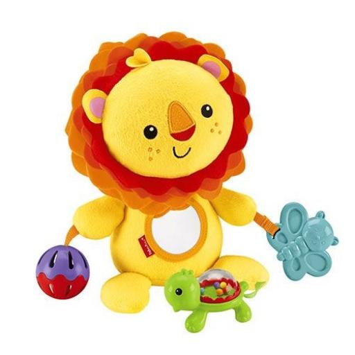 Fisher-Price - Készségfejlesztő plüss oroszlán
