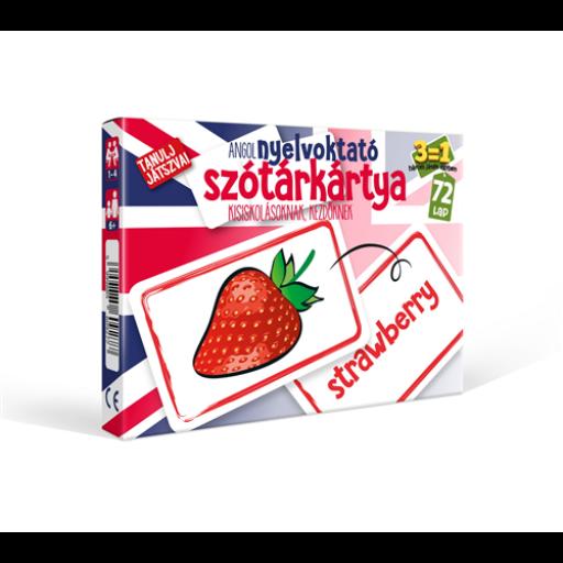 Szótárkártya - Angol kezdőknek kártyajáték