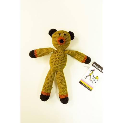 Mamazon - Horgolt maci - sárga