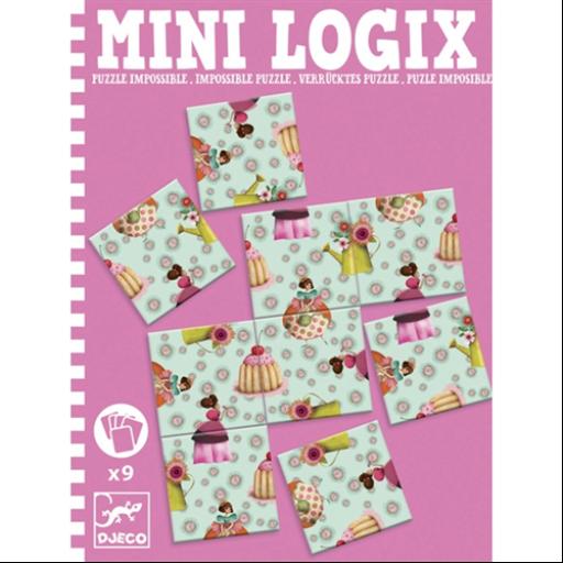 Djeco - Mini logika - Lehetetlen - Impossible princess puzzle
