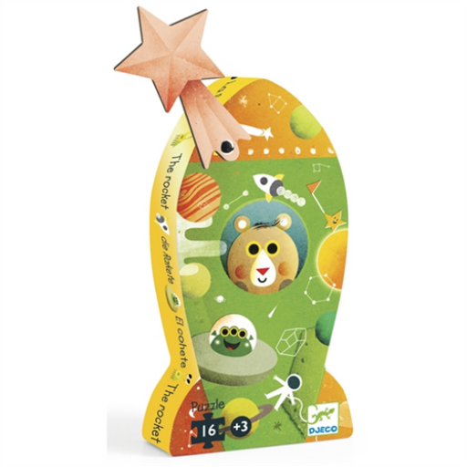 Djeco - Mini puzzle - Rakéta