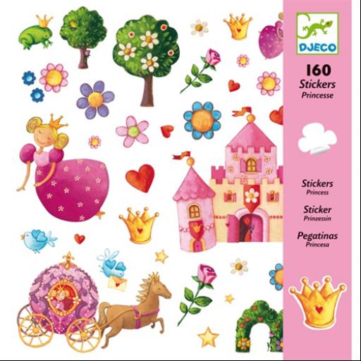 Djeco - Matricák - Margaréta hercegnő