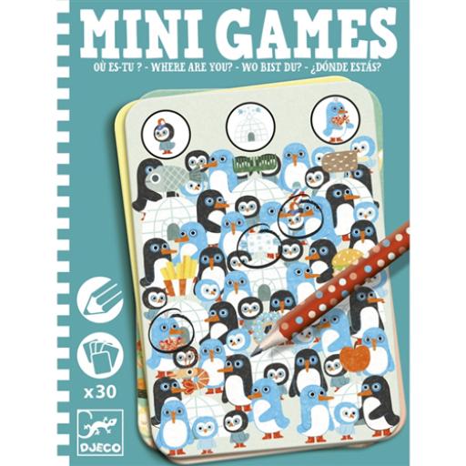 Djeco - Mini játékok - Te meg hol vagy?