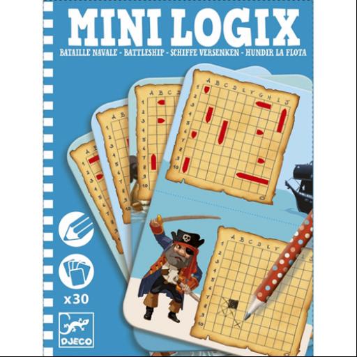 Djeco - Mini logika - Hajócsata