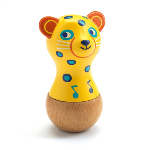 Djeco - Játékhangszer - Jaguár marakas