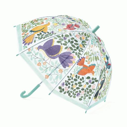 Djeco - Esernyő - Virágok és madarak