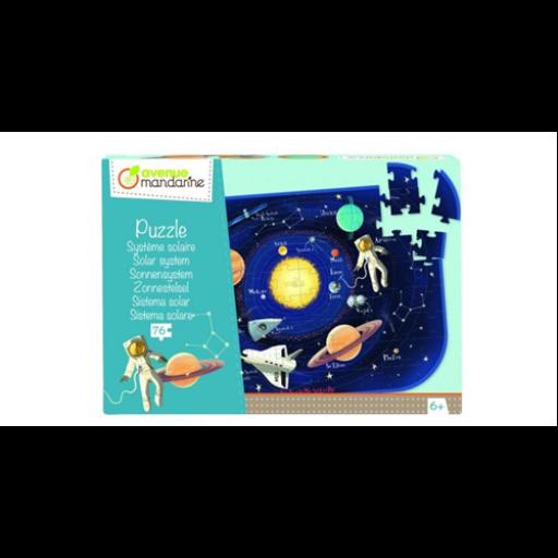 Naprendszer puzzle - 76 db