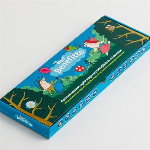 Plukkido - Benefitto - Gyermeknevelést segítő mágneses táblajáték és módszertan