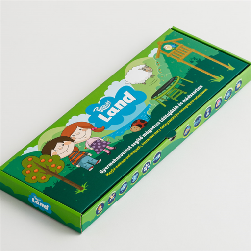 Plukkido - Land - Gyermeknevelést segítő mágneses táblajáték és módszertan