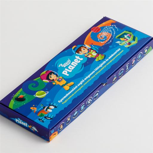Plukkido - Planet - Gyermeknevelést segítő mágneses táblajáték és módszertan