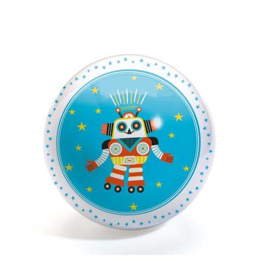 Djeco - Gumilabda - Vidám robot - 12 cm