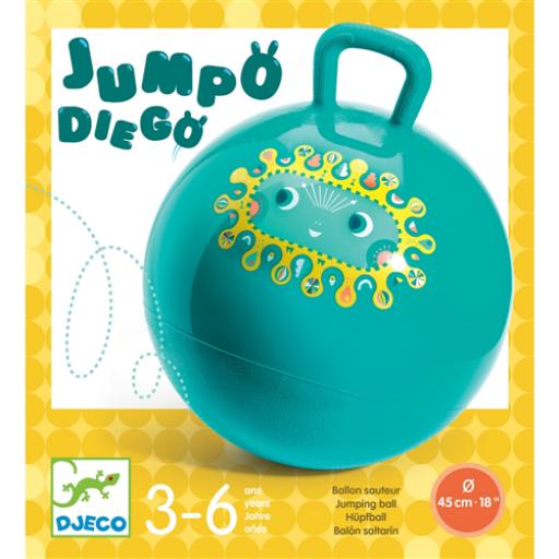 Djeco - Ugrálólabda - Jumpo Diego - 45 cm