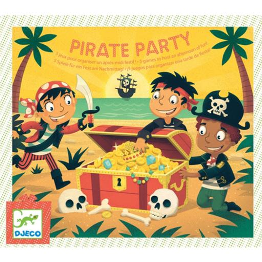 Djeco - Társasjáték - Kalóz party - Pirate Party