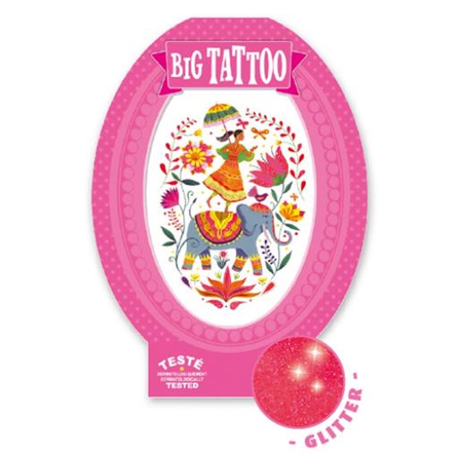 Djeco - Tetováló matricák - Rose India