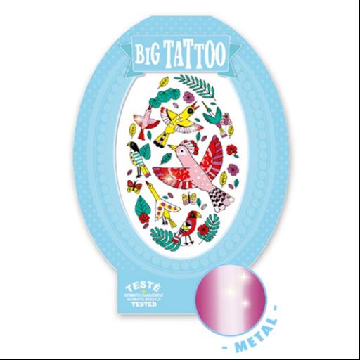 Djeco - Tetováló matricák - Birdy