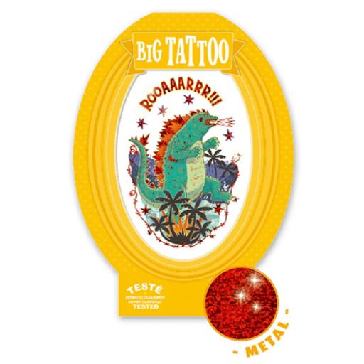 Djeco - Tetováló matricák - Godzilla