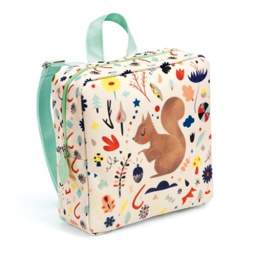 Djeco - Óvodás táska - Mókus