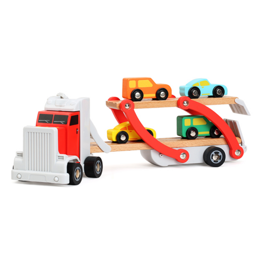 Fajáték - Autószállító kamion