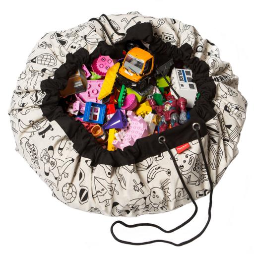 Play&Go - Játék tároló zsák – Színezz ki!