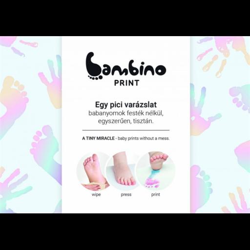 Bambinoprint készlet - pink és kék babanyomok