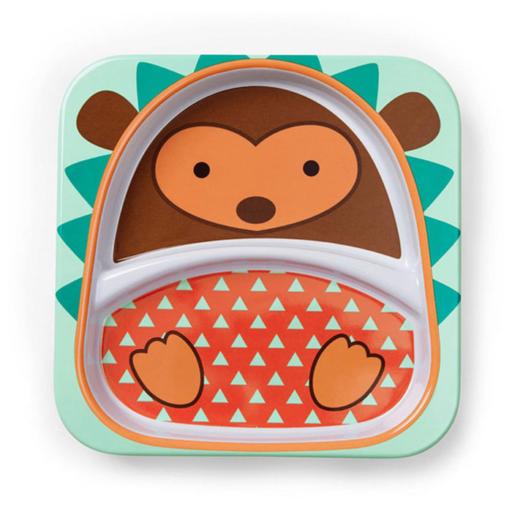 Skip Hop Zoo - Nagy tányér - Süni