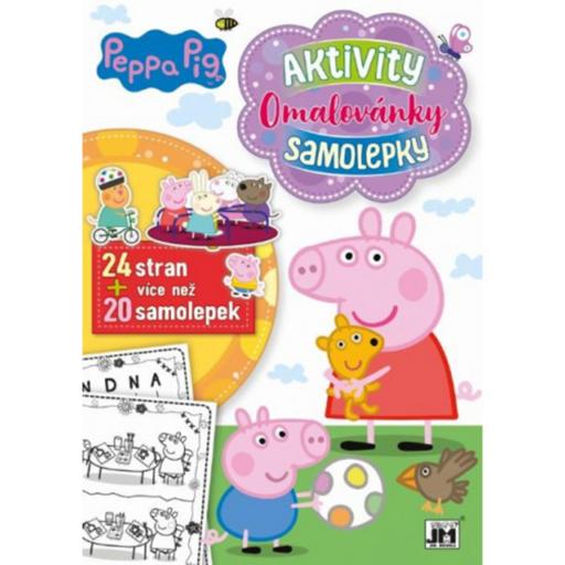 Peppa malac foglalkoztató könyv matricákkal - Aktivity